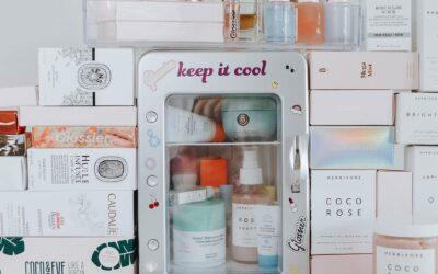 Colocar a sua maquilhagem no frigorífico?